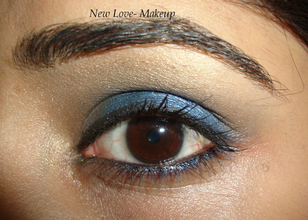 Loreal Electric Eye Contest Entry 5- Midnight Blue Smokey