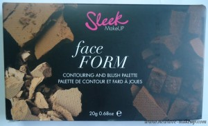 DSC01254 300x183 Sleek MakeUP Face Form Palette Review, Swatches