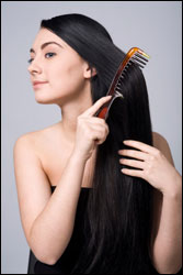 long hair brushing web607 1  Everyday Tips for Growing Long, Healthy Hair