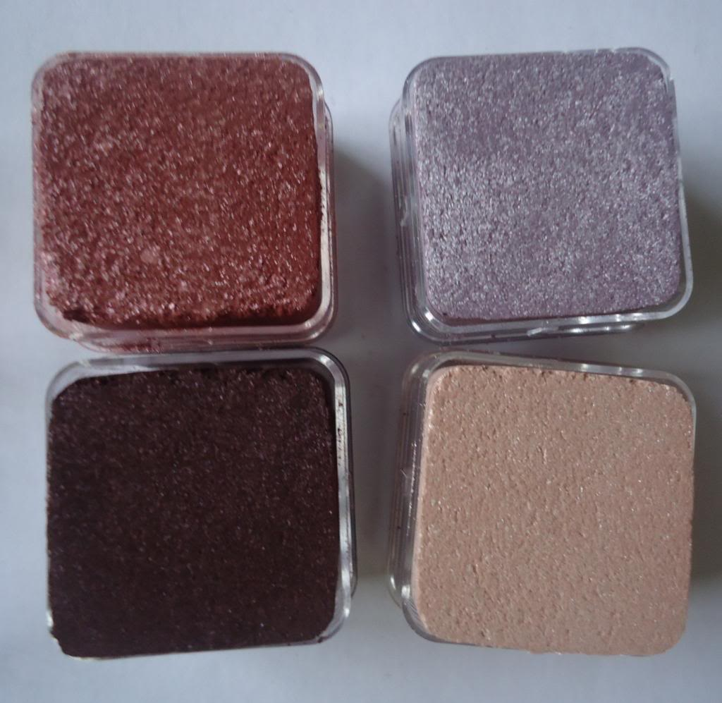 DSC01864 The Body Shop Lily Cole Shimmer Cubes Review, Swatches