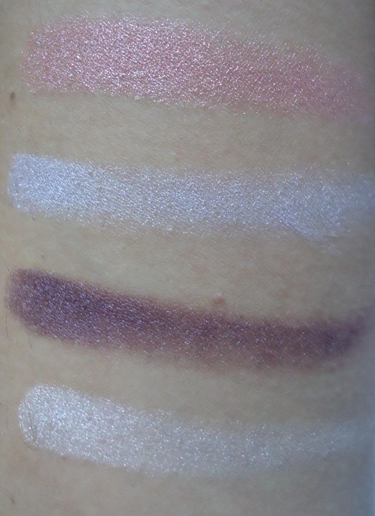 DSC01867 The Body Shop Lily Cole Shimmer Cubes Review, Swatches