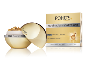 download 300x221 Pond's launches gold radiance™ Ultra Rich Night Treatment Capsules