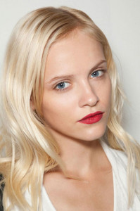hbz makeup trend ss13 red lips Burberry lgn 199x300 Makeup Trends for 2013