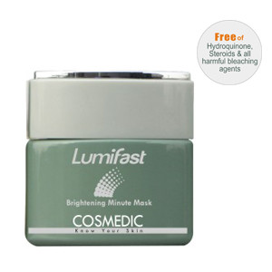 DPI0004 300x300 Cosmedic Lumifast Brightening Minute Mask Review