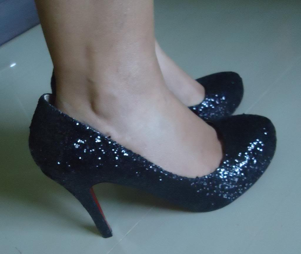 Black Sequin Pumps from Milanoo.com | New Love - Makeup
