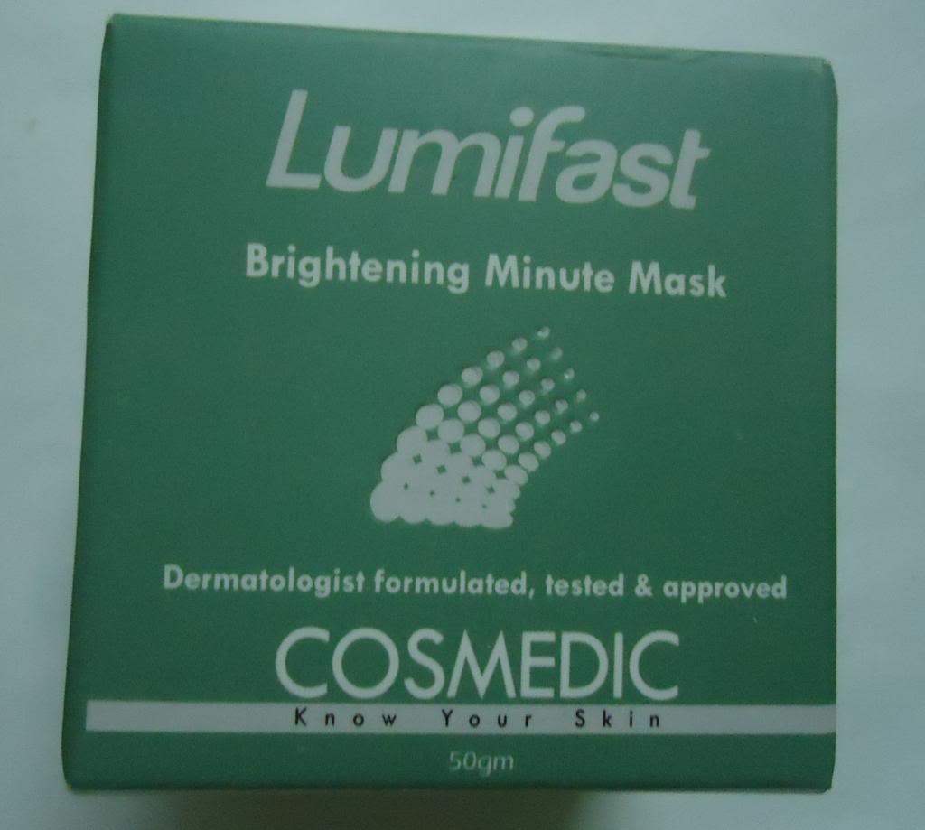 DSC02833 zpsec85be0d Cosmedic Lumifast Brightening Minute Mask Review