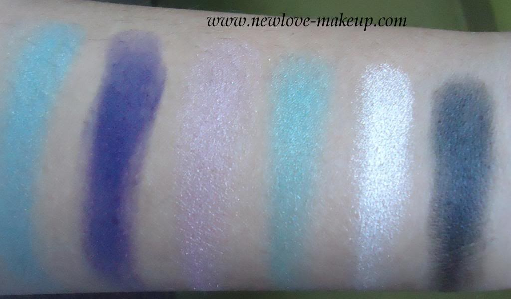 Sleek MakeUP i-Divine Limited Edition Aqua Collection Lagoon Eyeshadow Palette Review, Swatches