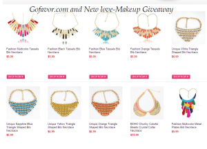 gofaovr 300x216 Win a Statement Necklace from Gofavor: 3 winners