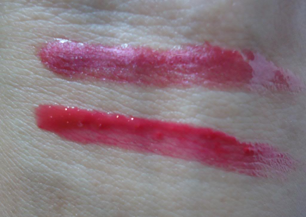 DSC01811 zps1aadb325 Maybelline Colorsensational Lip Gloss Raspberry Sorbet Review, Swatches