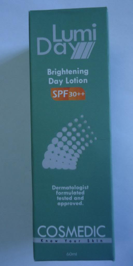 DSC03440 zpsf2fe12c4 Cosmedic Lumiday Brightening Day Lotion SPF 30++ Review