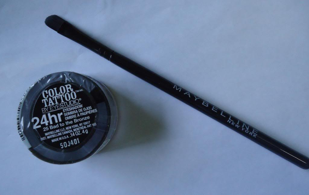 DSC03895 zps50464769 Maybelline 24Hr Color Tattoo Bad to the Bronze Review, Swatches, EOTD