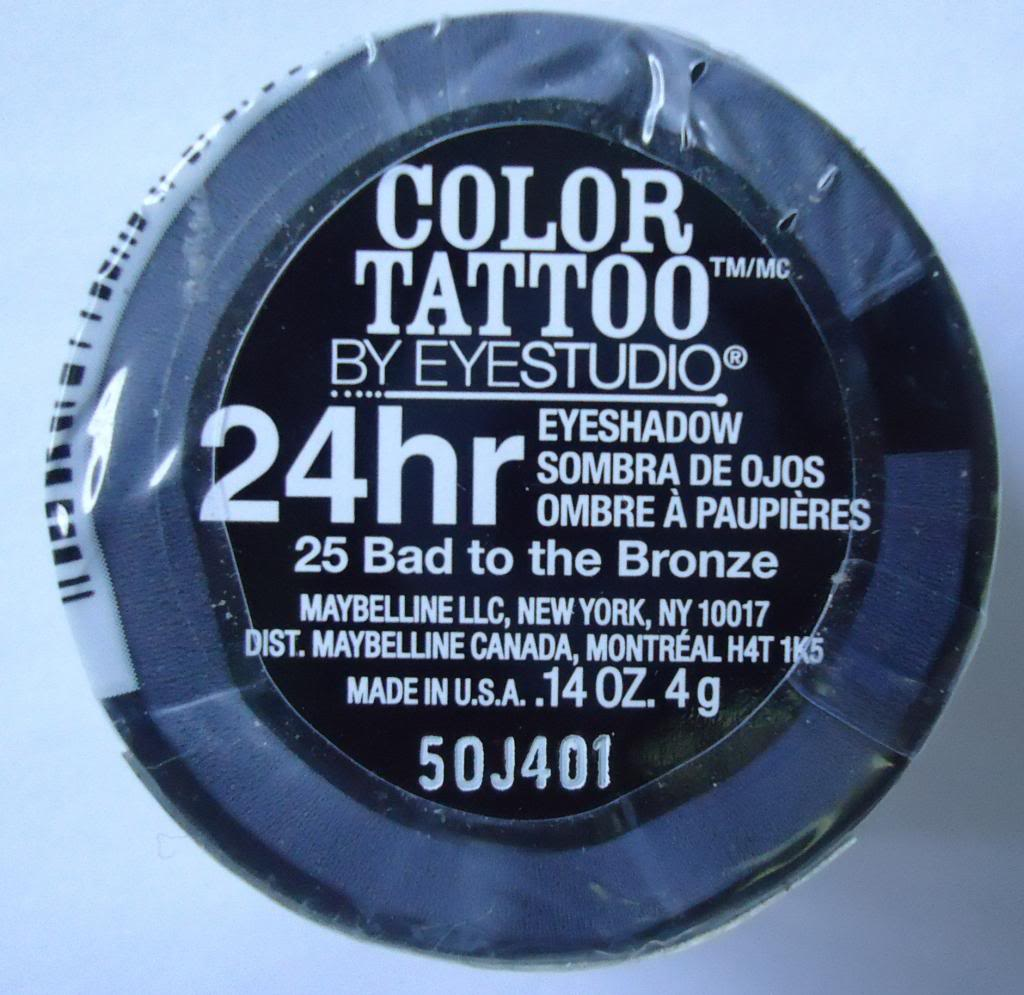 DSC03896 zps802f2501 Maybelline 24Hr Color Tattoo Bad to the Bronze Review, Swatches, EOTD