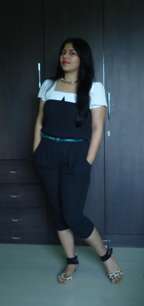 DSC05833 zpse2fe8344 OOTD: Black & White Jumpsuit