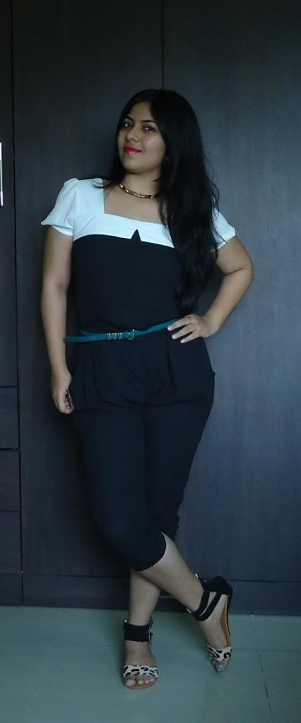 OOTD: Black & White Jumpsuit