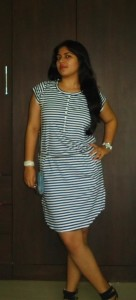 ea19fc0f 0212 41ec bdca 18abbdd3fb22 zps4cf13300 136x300 OOTD: Casual Striped Dress, Denim Clutch