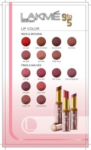 lakme Lip Color 9 to 5 Shade card 183x300 Lakmé 9 to 5: The Office Stylist Range
