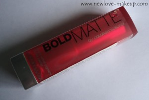 DSC06738 zps019a7ef8 300x202 Maybelline Bold Matte Colorsensational Lipstick Review, Swatches