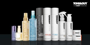 Product Packshot 1  300x150 Toni & Guy HairMeetWardrobe India Launch