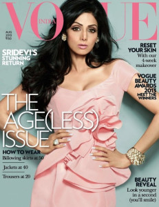 Sridevi Vogue august cover 231x300 Vogue Beauty Awards Winners 2013