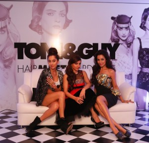 TONI amp GUY Hair Meet Wardrobe s Three Timess collections Casual Glamour... 300x287 Toni & Guy HairMeetWardrobe India Launch