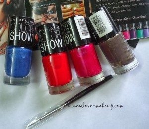 DSC077881 300x260 Maybelline Color Show Nail Paints Review, NOTD