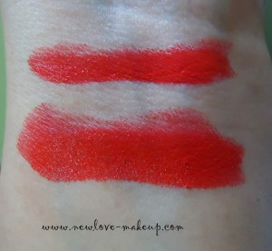 DSC089741 300x277 Oriflame More by Demi Lipstick Coral Red Review, Swatches