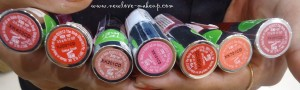 The Body Shop Color Crush Lipstick Swatches