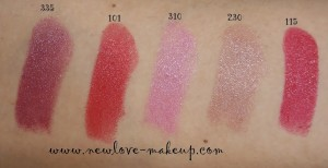 DSC089881 300x154 The Body Shop Color Crush Lipstick Swatches