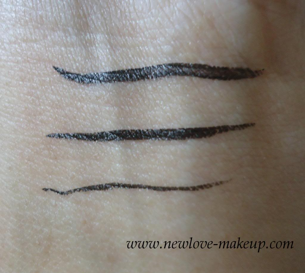 Maybelline Hypersharp Eyeliner Review Swatches New Love Makeup Hyper Sharp Wing Eyestudio Ultra Fine Liner